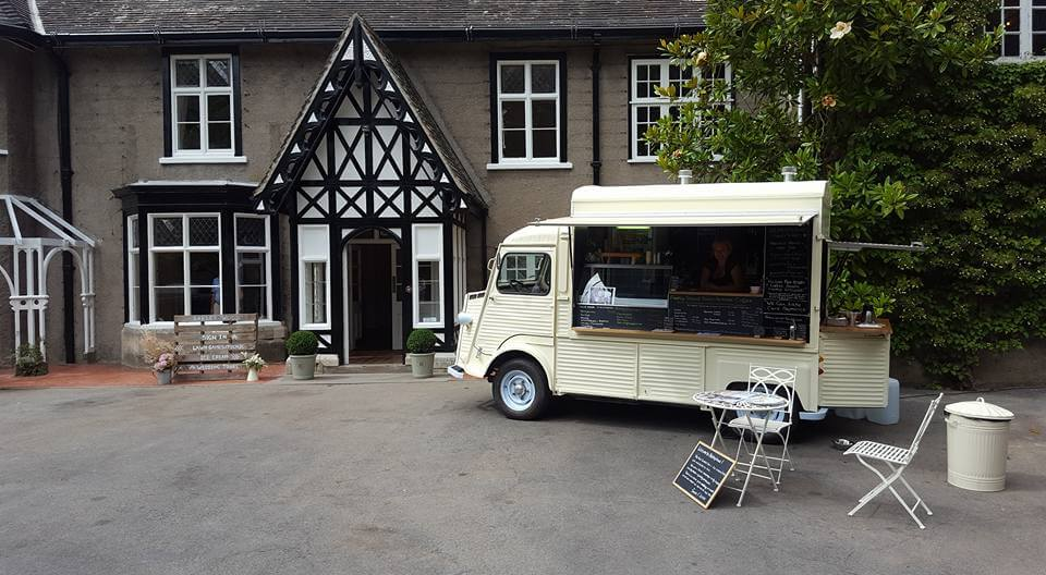 Barley wood and The Toot Sweets Van